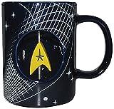 Westland Giftware Ceramic Spinner Mug, Star Trek, 12 oz., Multicolor