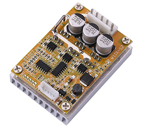 Yeeco DC 5-36V 350W High Power Motor Controller Driver Board, Brushless DC Motor Speed Regulator Control with Reversible Switch Forward/ Reverse (Brushless Electric Motor Speed Controller)