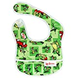 Bumkins Waterproof Starter Bib, Seuss Green Eggs (4-9 Months)