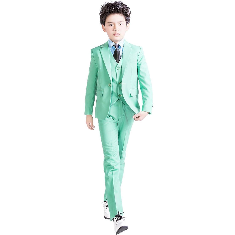 Amazon.com: XoMoFlag Boys\' Flower Formal Suit Stage Wear Wedding ...