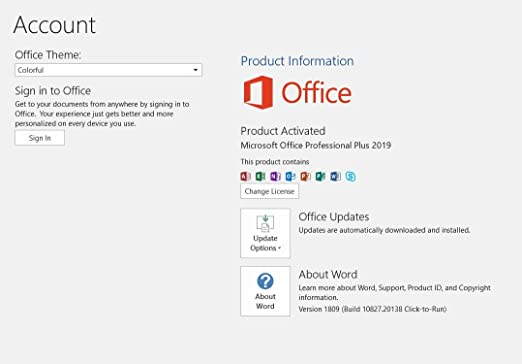 office 2019 full activated