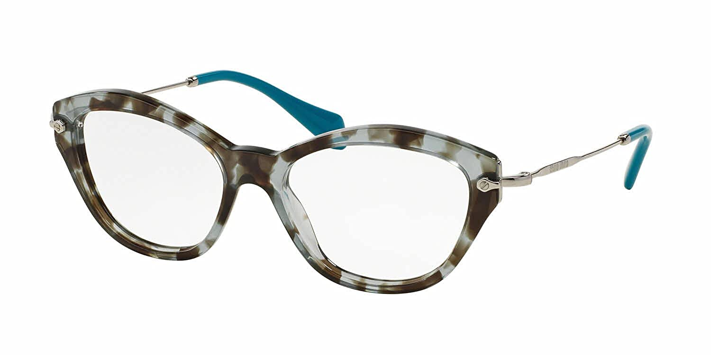 MIU MIU Eyeglasses MU 02OV UAH1O1 Lilac Havana 54MM