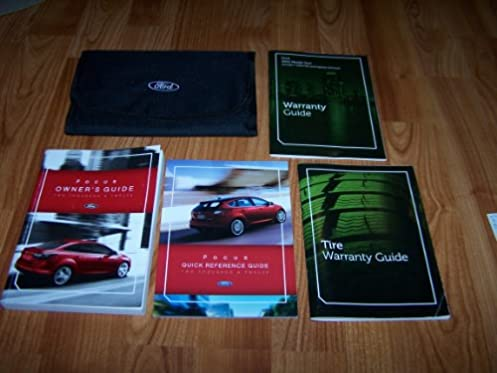 2012 ford focus owners manual ford amazon com books rh amazon com 2012 ford focus service manual 2012 ford focus service manual pdf