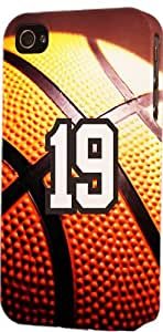 Basketball Sports Fan Player Number 19 Plastic Snap On Decorative iphone 6 plus Case