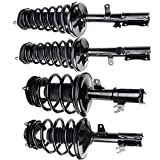 SCITOO Complete Strut Coil Spring Assembly Replacement Struts Shocks Fit for 1997-2001 Lexus Es300 - 1997-2001 Toyota Camry - 1997-2003 Toyota Avalon - 1999-2003 Toyota Solara((Front Rear Pair)