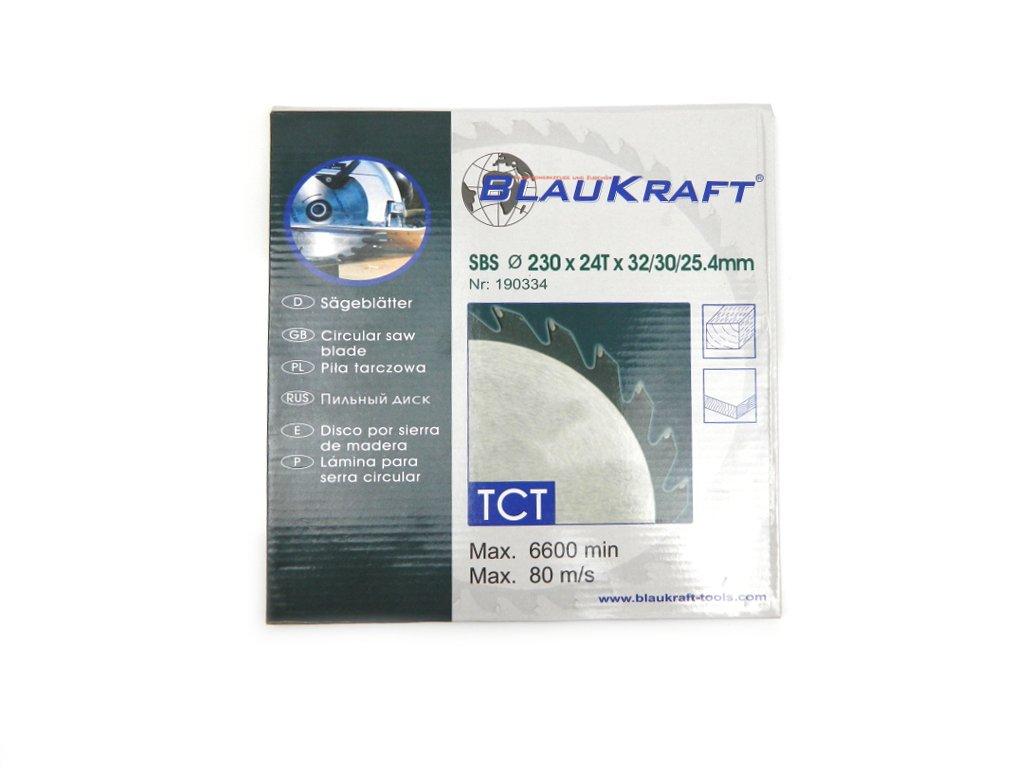 BLAUKRAFT Scie circulaire 230x24Tx32/30/25, 4mm Pour le bois