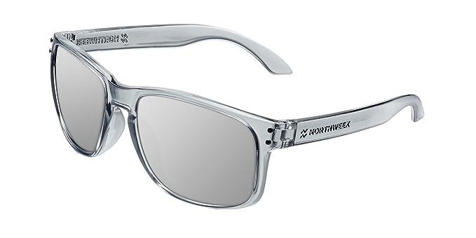 NORTHWEEK Bold Gafas de Sol, Plateado, 52 Unisex