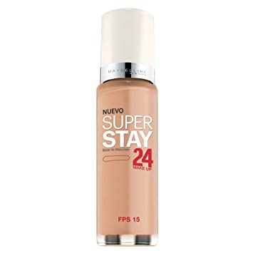 eb7ca5e4bf0 Amazon.com : Maybelline New York Super Stay 24Hr Makeup, Pure Beige, 1  Fluid Ounce : Foundation Makeup : Beauty