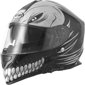 Casco de nuevo la motocicleta VCAN V127 HOLLOW SKULL Casco Moto Touring Casco integral deportivo Cascos