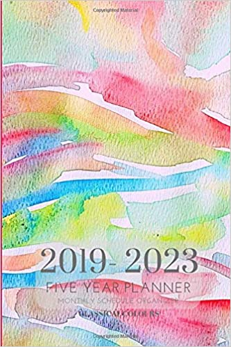 2019-2023 Five Year Planner Monthly Schedule Organizer ...