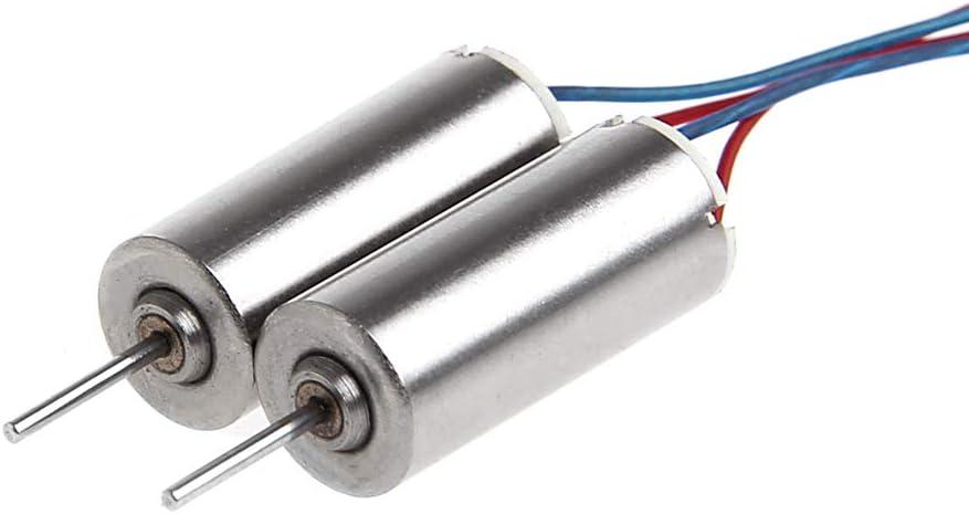 Vivianu 2 /Üe DIY DC 3,7 V 50000 RPM 716 Hohlbecher Motor Corel Motor F/ür RC Modell Spielzeug