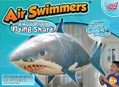 Air Swimmer Flying Fish - Shark - Extreme Model (Radio Control) by Animal Planet