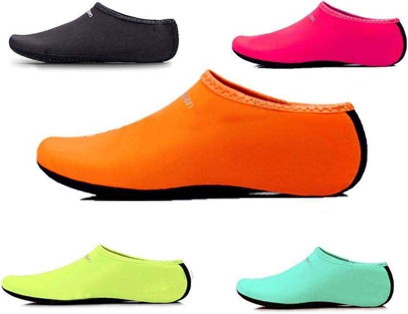 OrangePiscine int/érieure pour Enfants Socke Barfu/ß Strand Surf Tauchen Haus Pantoffel EU 26-27 Chaussettes de Plong/ée