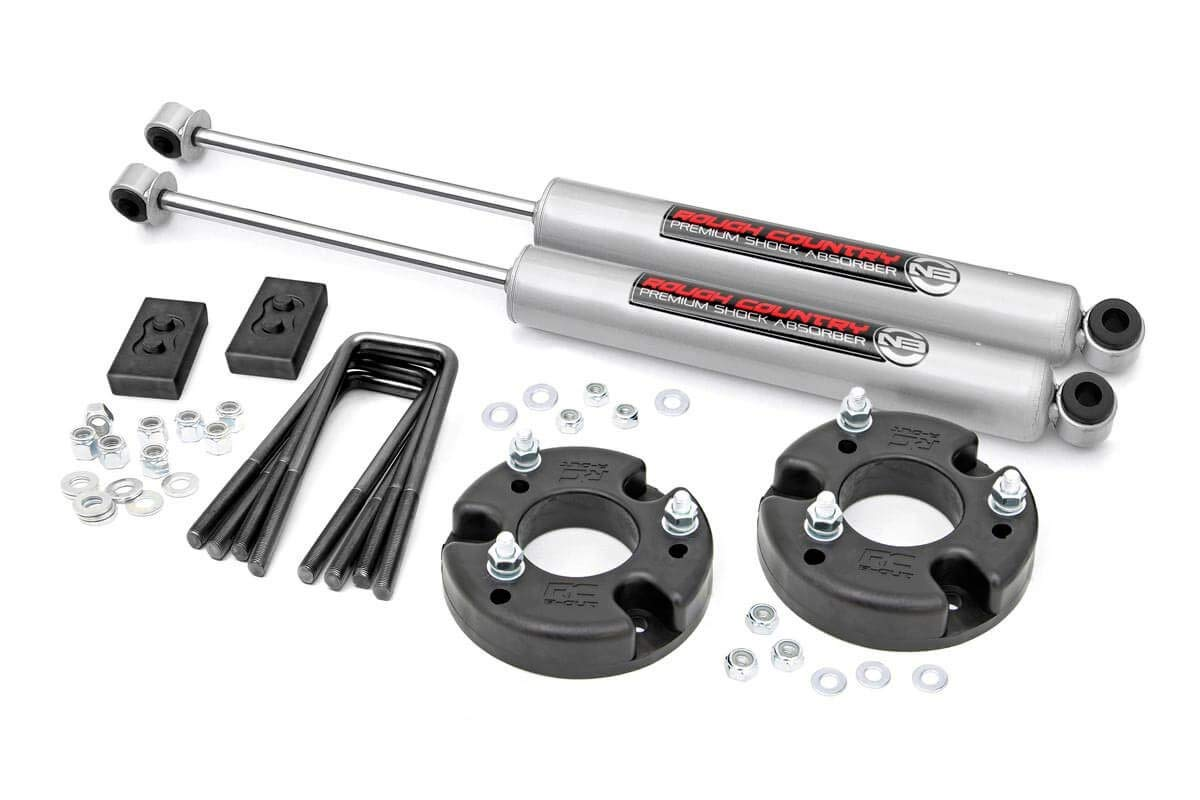 Rough Country 52220 - 2in Leveling Lift Kit 09-18 F150 with Premium N2.0 Shocks