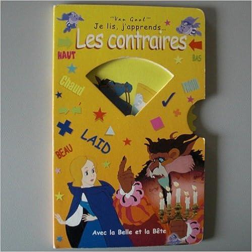 Livres Les contraires avec la Belle et la Bête epub pdf