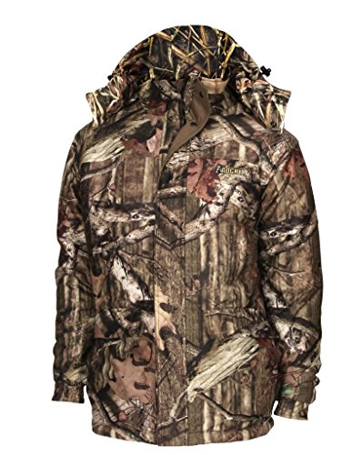 (Rocky Men's Prohunter Reversible 80G Insulated Parka, Mossy Oak Shadow/Camouflage, XX-Large)