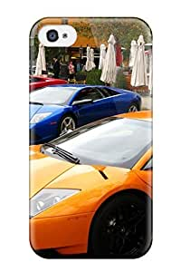 Holly M Denton Davis's Shop 2961810K39027687 Fashionable Iphone 4/4s Case Cover For Lamborghini Cars Protective Case