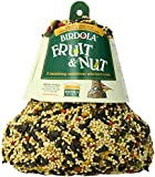 Birdola Fruit and Nut Seed Bell for Pets, 1-Pound