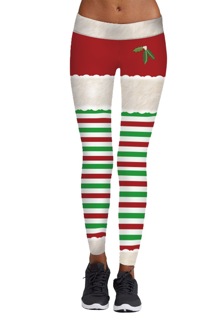 Pink Queen PANTS レディース B075F5LB7L L|Christmas Pattern 2 Christmas Pattern 2 L
