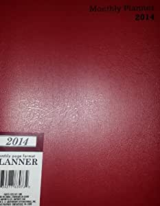 Red Maroon/Navy Blue/Hunter Green* Personal Day Timer* Personal Calendar* At a Glance Weekly Planner* 5x8*January 2014-December 2014 (Personal Black Weekly Calendar 2014)