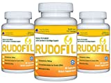 Rudofil Ultra Advanced Joint Relief Supplement - 1500mg Premium Glucosamine, Curcumin from Turmeric Rhizome, and Resveratrol - 3 Month Supply (270 Capsules)