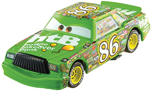 Diecast Chick - Disney/Pixar Cars, 2015 Piston Cup Die-Cast Vehicles, Chick Hicks #1/18, 1:55 Scale