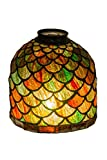 6 Inch W Acorn Shade Theme LODGE ART GLASS Product Family Acorn