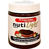NutiLight Dark Chocolate Hazelnut Spread, 312g