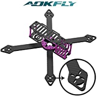 250mm Racing Drone Carbon Fiber Quadcopter Frame with DALPROP T5045 Tri-Blade Propellers(2 pairs) By Aokfly