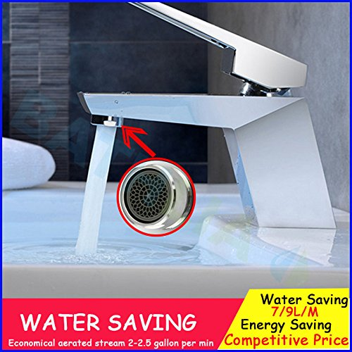 Generic White : 3pcs Bathroom faucet Aerator M24 Male Thread Faucet Aerator Bubbler Insert Water-saving Faucet Replacement Part SH3