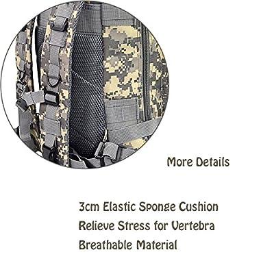 Marrywindix Sport Outdoor Military Rucksacks Tactical Molle Backpack Camping Hiking Trekking Bag