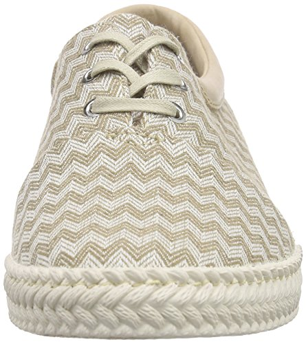 Esprit Silvana Lace Up - Zapatillas Mujer Beige