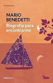 Biografía para encontrarme par Benedetti