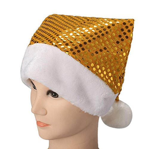 Celebration Sequin Hat (1 Piece of Newly Design Christmas Xmas Santa Claus Caps Hat For Celebration Sequins Hat 63)