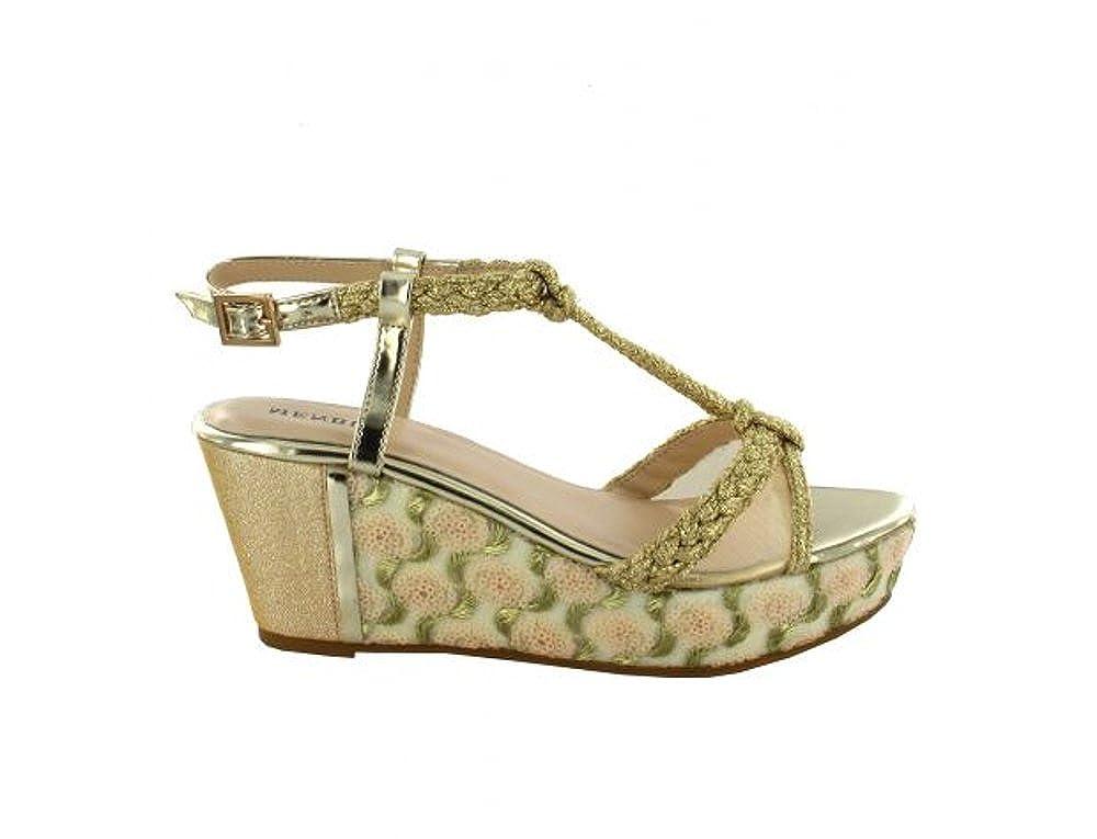 Sandalo con con con zeppa Menbur 41 af571e
