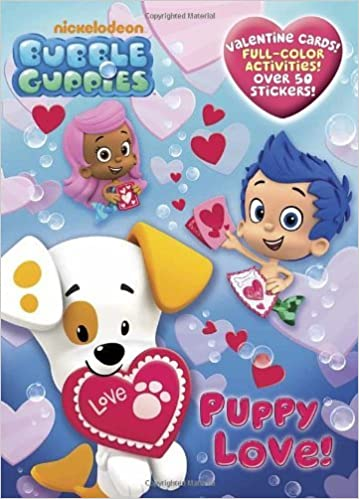 Puppy Love Bubble Guppies Full Color Activity Book With Stickers By Golden Books 2012 12 26 Paperback Amazon