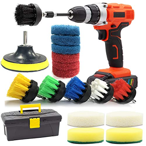 Top 9 Best Scrubbing Drill Brush Sets Reviews For Cleaning