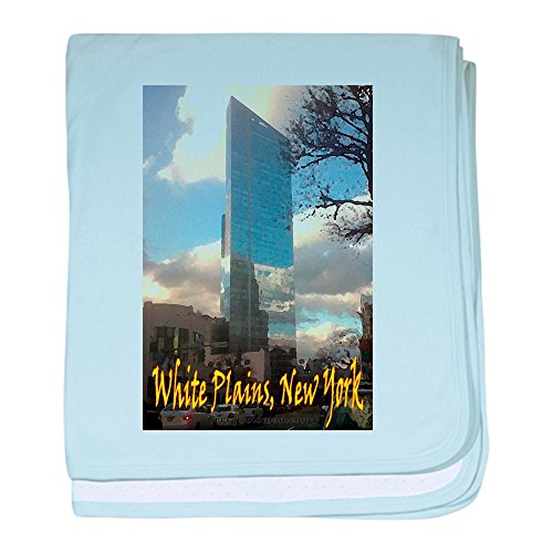 CafePress - White Plains, New York - Baby Blanket, Super Soft Newborn - White Plains Westchester The