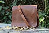 Hlc Real Leather Rucksack Handmade Messenger Vintage Bag Backpack Satchel