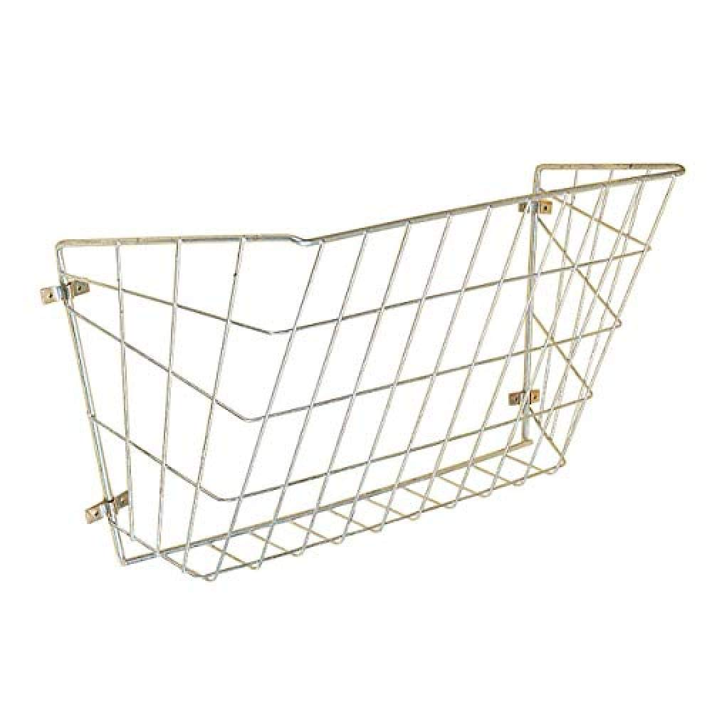 Stubbs Haysaver Wall Rack (One Size) (Silver) by Stubbs