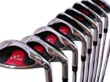 Extreme X5 Wide Sole iBRID Iron Set Senior Men's Complete 8-Piece Iron Set (4-SW) Right Handed...