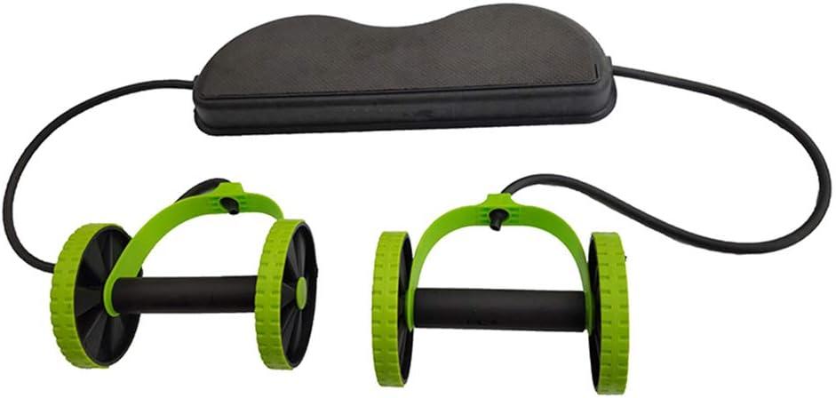 M/áquina de entrenamiento de potencia de cuerpo completo M/áquina de entrenamiento en casa con banda de resistencia Ruedas AB Estiramiento con rodillo Resistencia abdominal el/ástica Herramienta