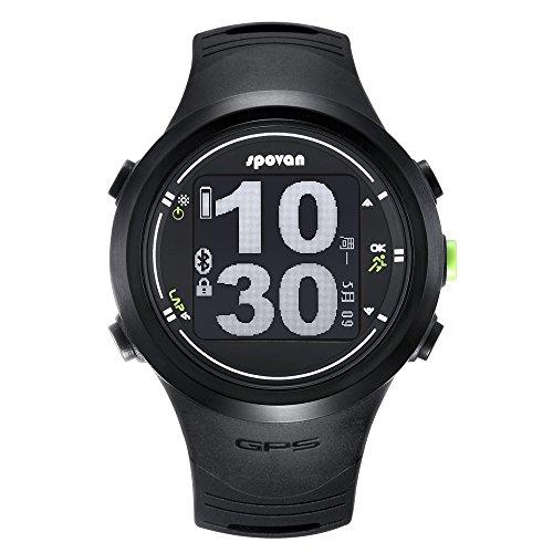 SPOVAN Smart Sports Watches for Men Bluetooth Watch (Free Heart Rate Belt)