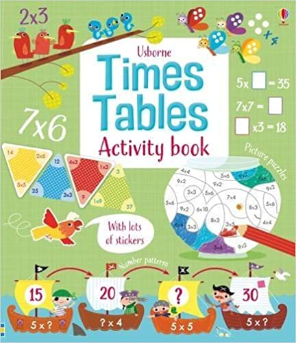 Times Tables Activity Book (Maths Activity Books) by Rosie Hore (2016-01-01)
