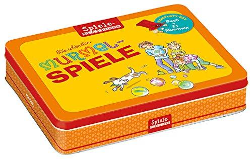 Die schönsten Murmelspiele (Kinderspiel) mit Buch: Spiele-Klassiker - bunte Glasmurmeln - Spielanleitungen (Tapa blanda)