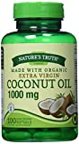 Nature's Truth Extra Virgin Coconut Oil 1000 mg, 100 Count