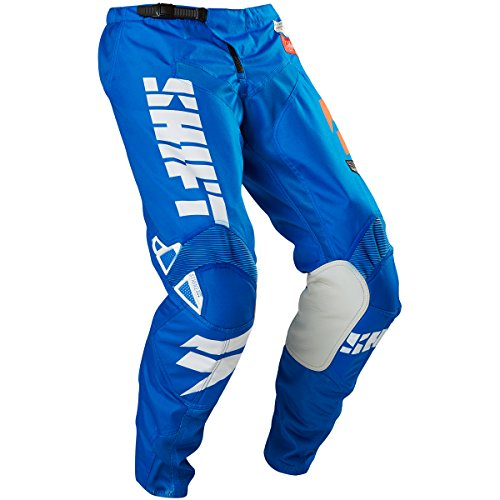 Shift Racing Strike Men's Off-Road Motorcycle Pants - Blue/Green/Size 34 by Shift (Image #2)