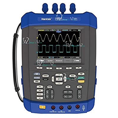 Handheld Oscilloscope Multimeter 6in1 2CH 150MHz 1GSa/s Recorder DMM Spectrum Analyzer Frequency Counter Arbitrary Waveform generator