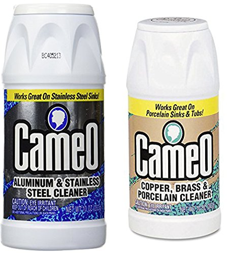 Cameo Aluminum & Stainless Steel Cleaner + Copper & Brass Cleaner (Variety ()
