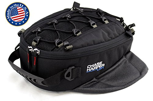 (Chase Harper 450M Magnetic Tank Bag, Water-Resistant, Tear-Resistant, Industrial Grade Ballistic Nylon with Anti-Scratch Rubberized Polymer Bottom, Super Strong Neodymium Magnets)